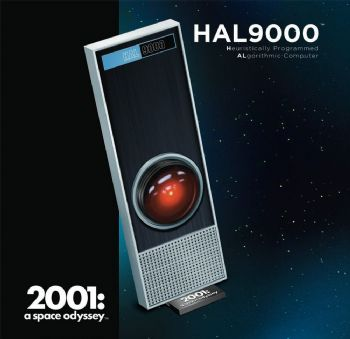 2001 A Space Odyssey HAL900 1:1 Scale Model Kit